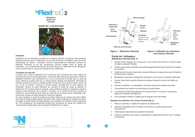 Instructions Flexineb E2 Fr 1