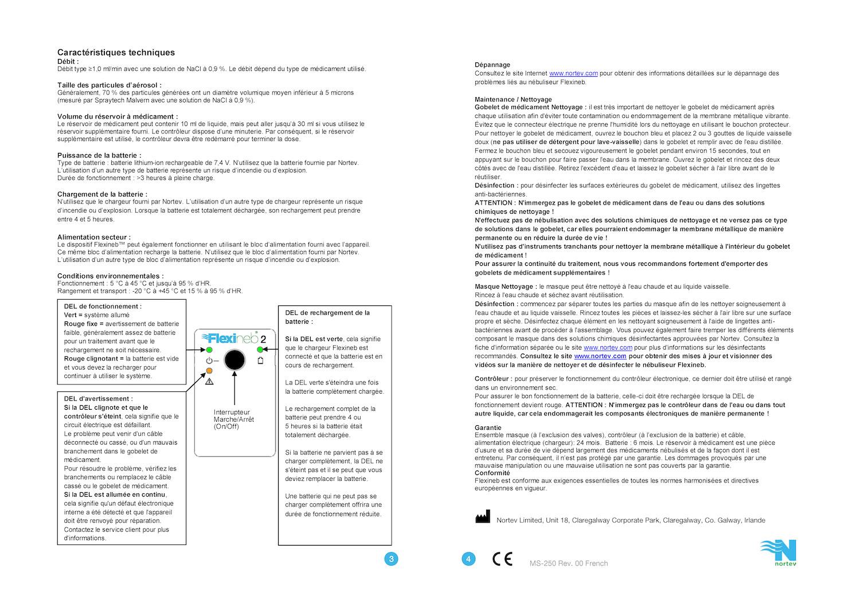 Instructions Flexineb E2 Fr 2