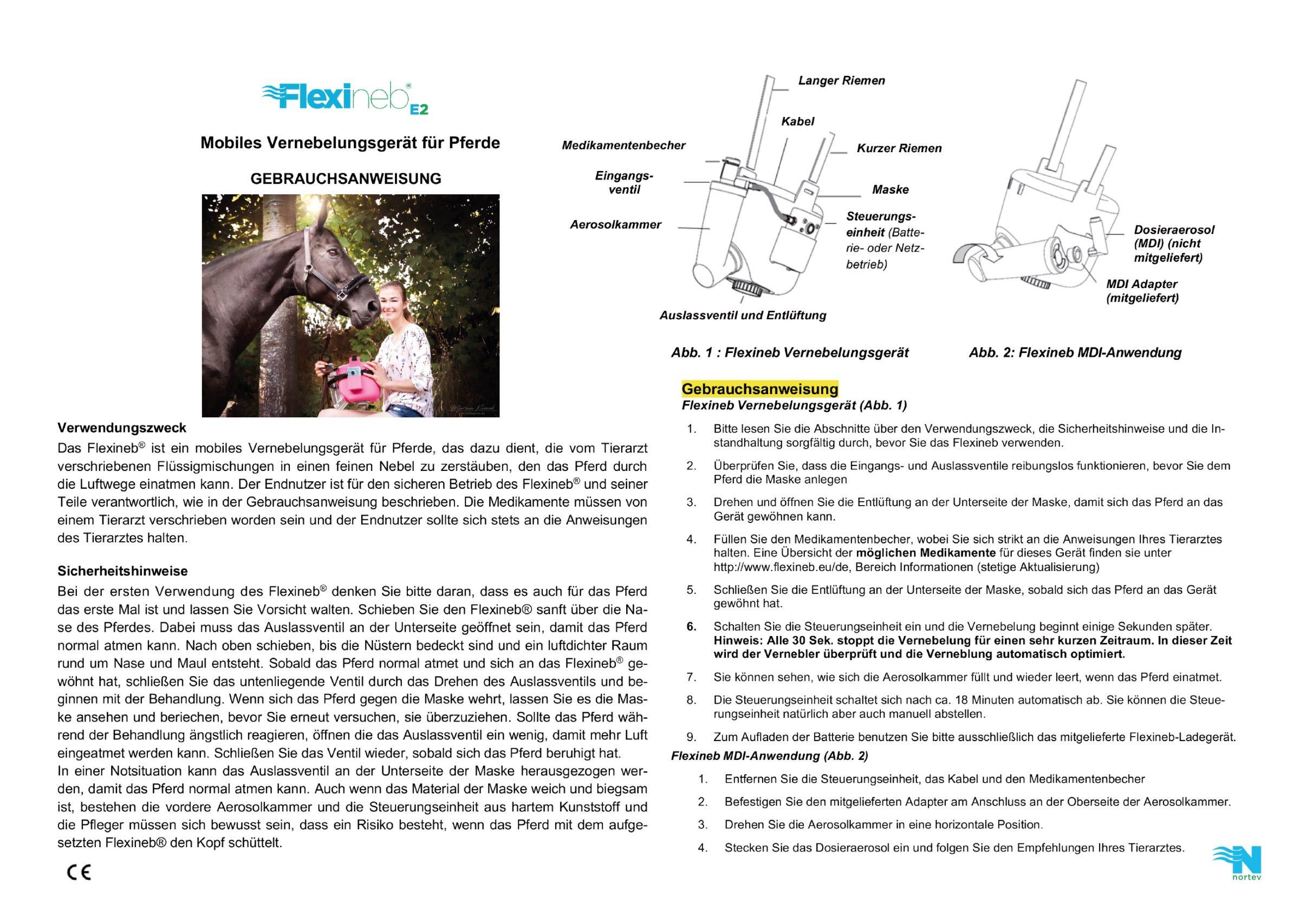 Gebrauchsanweisung Flexineb E2 De 06 19 1